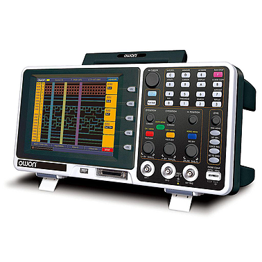 OWON MSO7062T Mixed Logic Analyzer Benchtop Oscilloscope (70M, 1GS/s, 2CH, 2M record length)