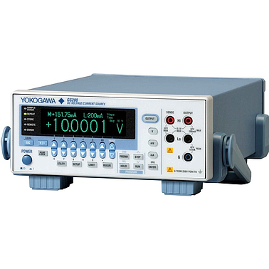 Yokogawa GS200 DC Voltage/Current Source (rear panel output terminals)
