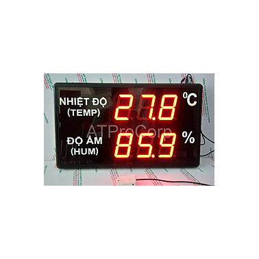 AT-THMT-S (RS485) Display humidity/temperature meter