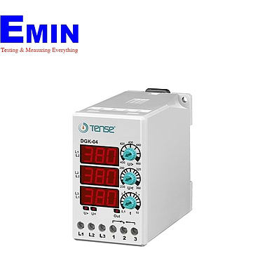 TENSE DGK-04 DIGITAL MONOPHASE VOLTAGE CONTROL RELAY (3 phase)
