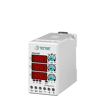 TENSE DGK-04F VOLTAGE CONTROL RELAY (3 phase)