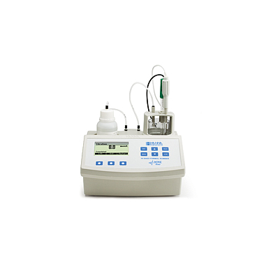 HANNA HI84433 Formol Number Mini Titrator and pH Meter for Wines and Fruit Juices HI 84433