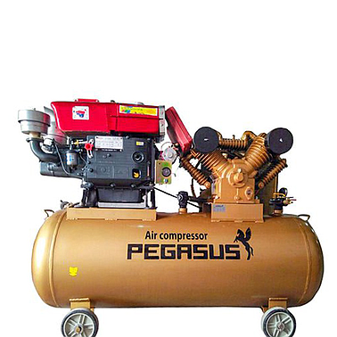 KOCU TM-W-1.0/8-330L Diesel Air Compressor