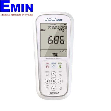HORIBA D-73G Portable pH / ORP / ION Meter