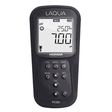 HORIBA PC220-K LAQUA pH/ORP/EC/TDS/Sal/Res/Temp (°C/°F) Multi-Parameter Meters