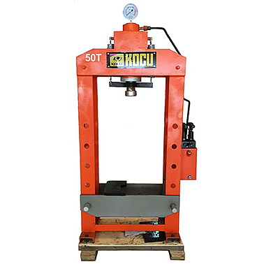 KOCU MSY-50T Hydraulic press 50 tons with gauge