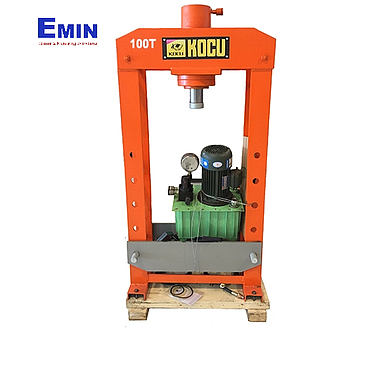 KOCU DMY-100T Electric hydraulic press with gauge 100 tons