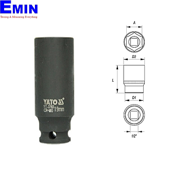 Yato YT-3770 Deep Impact Socket (6mm)