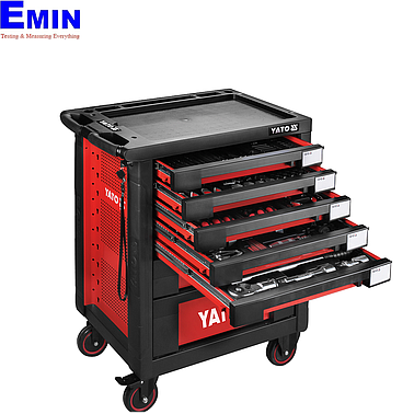 YATO YT-55293 Specialized car repair tool cabinet 165pcs