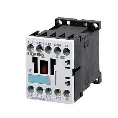 Contactor Siemens 3RT1016-1AP02, 9A, AC3 - 4KW/400V
