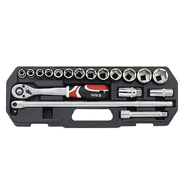 "Yato YT-3870 Tool set 1/2"" 18pcs"