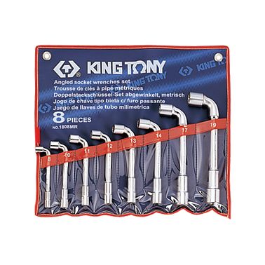 Kingtony 1808MR (8-19mm) Set of 2-way pipe with 2 heads 8 details