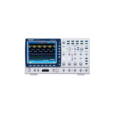 Texio DCS-9707 digital oscilloscope (4 Channels, 70Mhz, 2Gs / s)