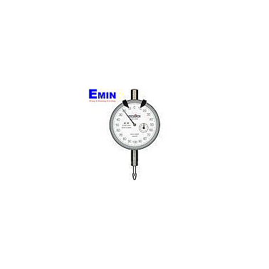 TECLOCK TM-1202f Dial Indicator (2mm/0.001mm)(Flat back)