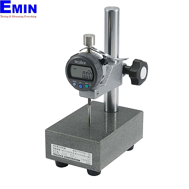 TECLOCK PG-12J Constant Pressured Thickness Measuring Instrument (12mm/0.01mm)(Stand-type)