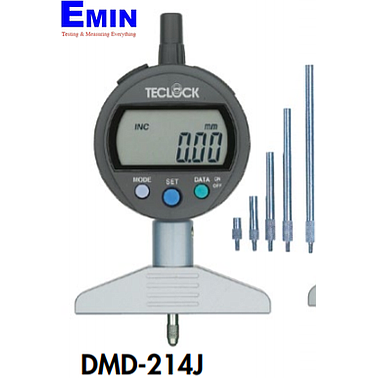 TECLOCK DMD-214J Standard Digital Depth Gauge (12(220)mm/0.01mm)