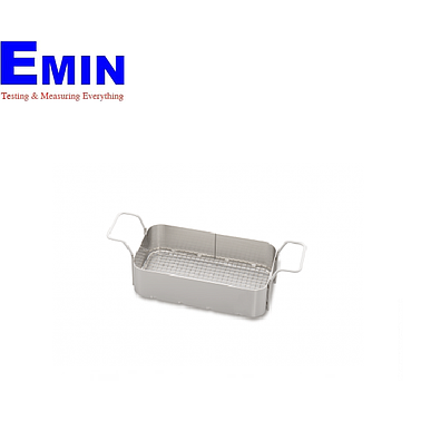 Elma 100 9780 Stainless-steel basket with plastic-coated for Elmasonic 90