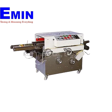 RenThang KA-B60 PCB Lead Cutter with inlet & outlet conveyors to soldering machine