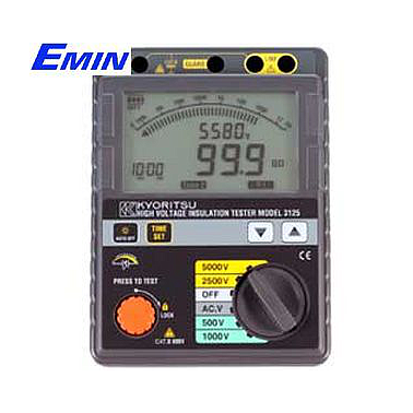 KYORITSU 3125 High Voltage Insulation Tester (5kV/1TΩ)