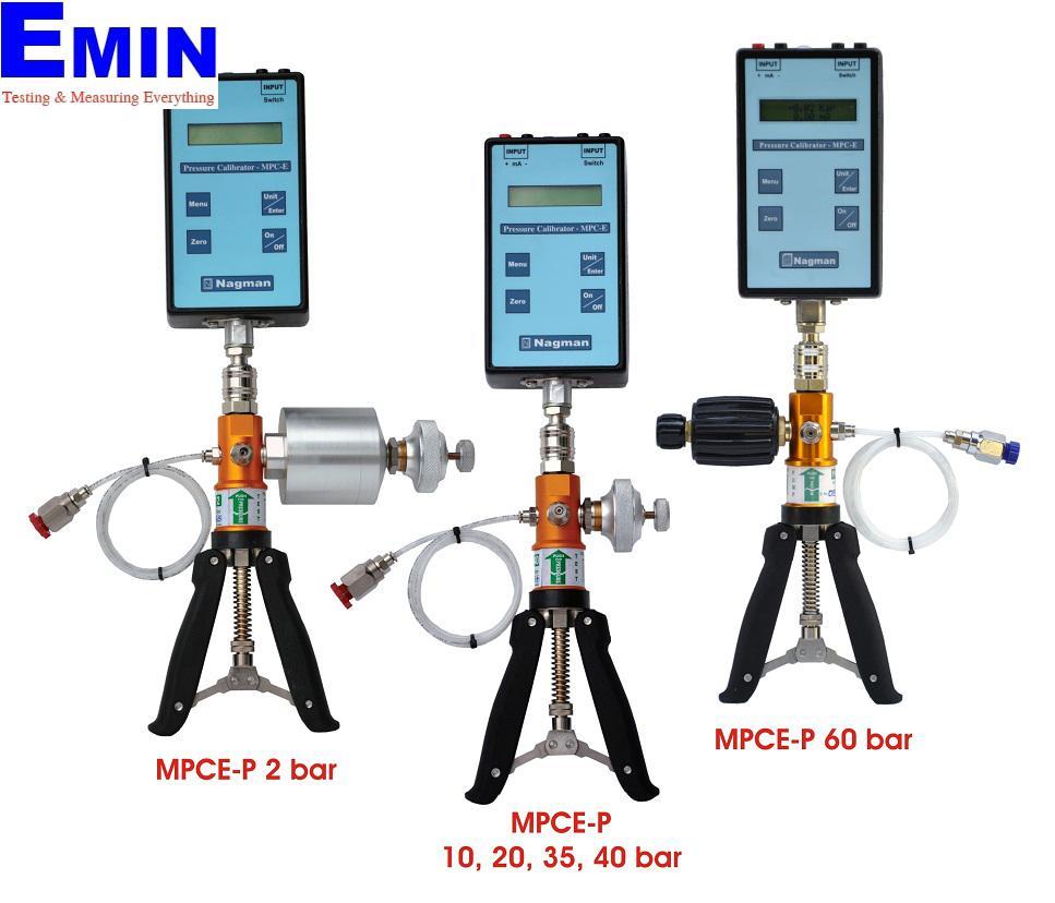 Nagman MPCE-P Pneumatic Pressure Calibrator (Economy, -0 ...