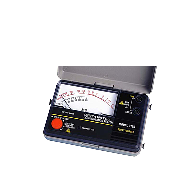 KYORITSU 3166 Analogue Insulation Tester (1000V/2000MΩ)