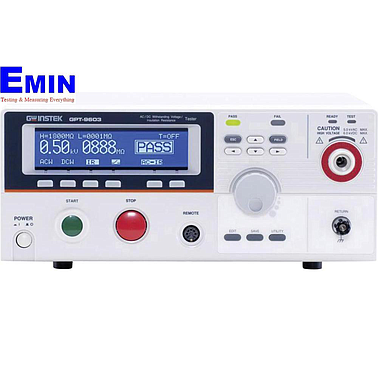 GW instek GPT-9802 Electrical Safety Tester (5kVAC, 6kVDC, 200VA)