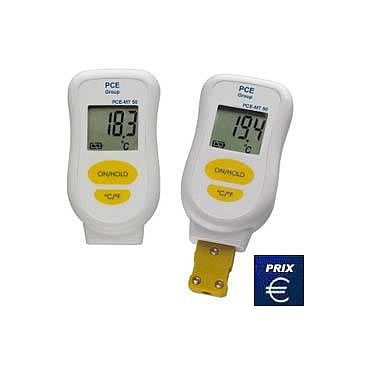 PCE-MT 50 Contact Thermometer (-60~+1370°C)